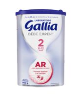Gallia Bebe Expert Ar 2 Lait En Poudre B/800g à SAINT-MARTIN-DU-VAR