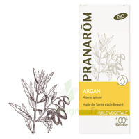 Pranarom Huile Végétale Bio Argan 50ml à SAINT-MARTIN-DU-VAR