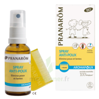 Pranarôm Aromapoux Bio Spray Anti-poux 30ml+peigne à SAINT-MARTIN-DU-VAR