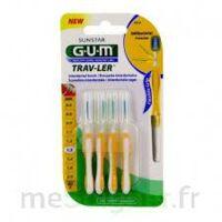 Gum Trav - Ler, 1,3 Mm, Manche Jaune , Blister 4 à SAINT-MARTIN-DU-VAR