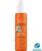 Avène Eau Thermale Solaire Spray Enfant 50+ 200ml à SAINT-MARTIN-DU-VAR
